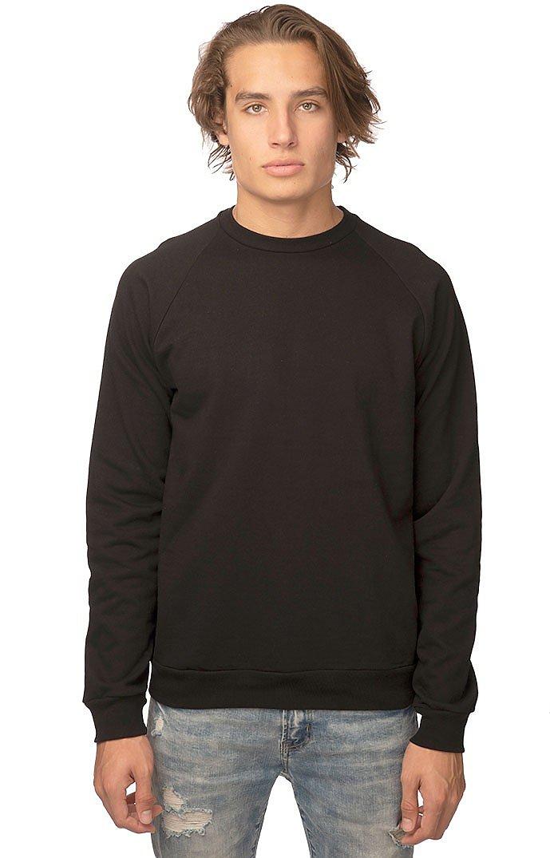 Unisex Organic Raglan Crew Neck Sweatshirt NIGHT