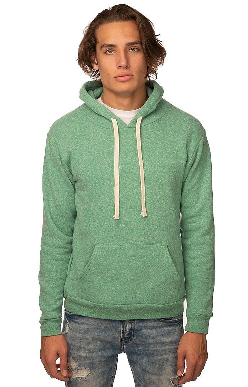 Unisex Triblend Fleece Pullover Hoodie TRI KELLY
