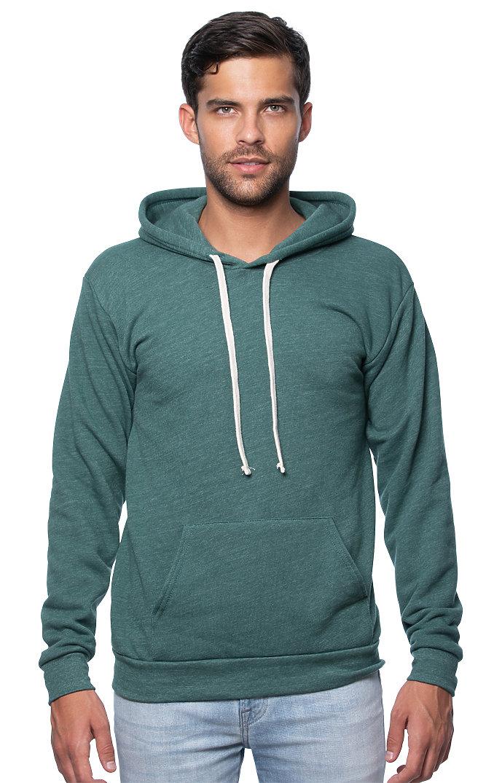 Unisex Triblend Fleece Pullover Hoodie TRI PINE