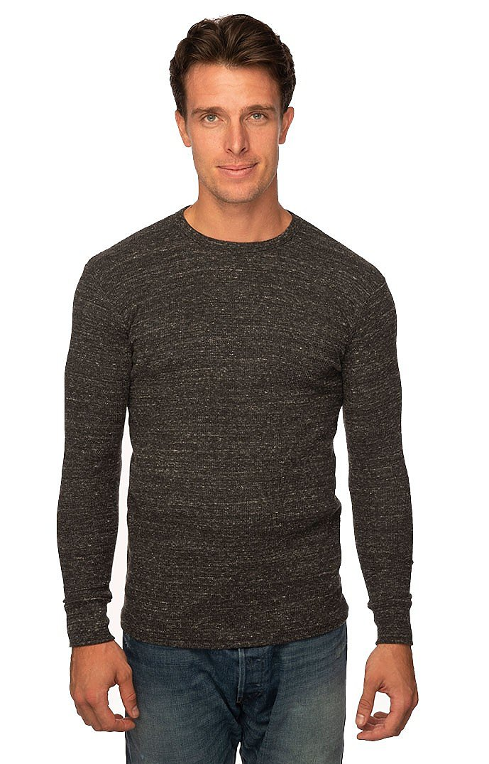 Unisex eco Triblend Heavyweight Thermal ECO TRI CHARCOAL