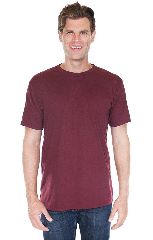 Unisex Short Sleeve Tee BURGUNDY