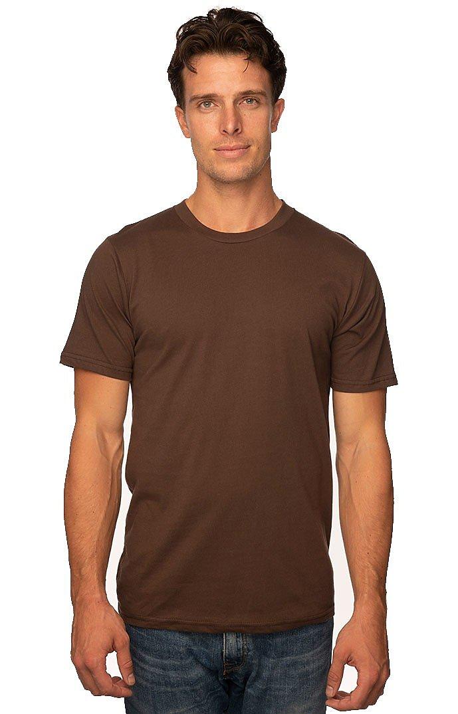 Unisex Short Sleeve Tee CHOCOLATE