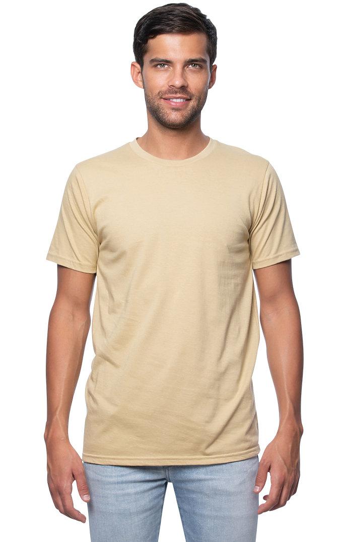 Unisex Short Sleeve Tee CHAMPAGNE
