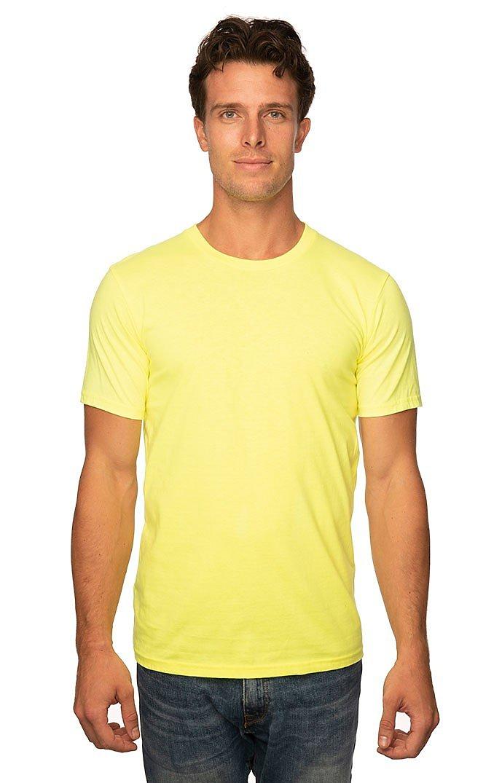 Unisex Short Sleeve Tee NEON YELLOW