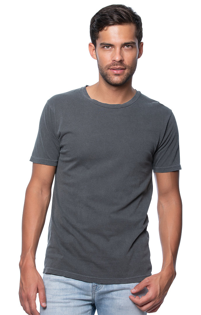 Unisex Vintage Pigment Dyed Tee CHARCOAL