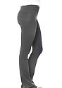 Women's Cotton Spandex Yoga Pant ASPHALT Side