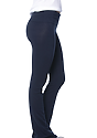 Women's Cotton Spandex Yoga Pant NAVY Side