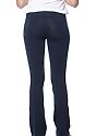 Women's Cotton Spandex Yoga Pant NAVY Back