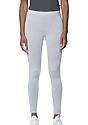 Women's Cotton Spandex Leggings HEATHER GREY Front