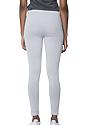 Women's Cotton Spandex Leggings HEATHER GREY Back2