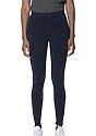 Women's Cotton Spandex Leggings NAVY Front