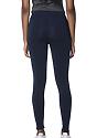 Women's Cotton Spandex Leggings NAVY Back2