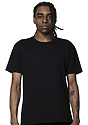 Unisex Short Sleeve Heavyweight Tee BLACK Front
