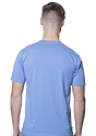 Unisex 50/50 Blend Tee HEATHER LIGHT BLUE Back