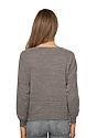 Women's Triblend Long Sleeve Raglan Pullover  Back
