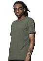 Unisex Triblend Short Sleeve Tee TRI ARMY Side