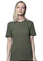 Unisex Triblend Short Sleeve Tee TRI ARMY Front2