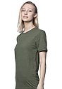 Unisex Triblend Short Sleeve Tee TRI ARMY Side2