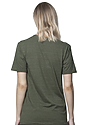 Unisex Triblend Short Sleeve Tee TRI ARMY Back2