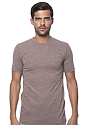 Unisex Triblend Short Sleeve Tee TRI CHOCOLATE Front