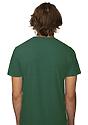 Unisex Triblend Short Sleeve Tee TRI PINE Back