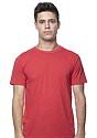 Unisex Triblend Short Sleeve Tee TRI RED Front
