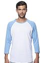 Unisex Triblend Raglan Baseball Shirt  Front