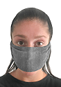 TRIBLEND JERSEY MULTIPURPOSE FACE MASK / HEADBAND  Side