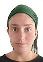 Triblend Jersey Headband TRI ARMY Front