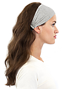 TRIBLEND JERSEY MULTIPURPOSE FACE MASK / HEADBAND TRI ASH Front