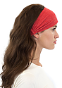 TRIBLEND JERSEY MULTIPURPOSE FACE MASK / HEADBAND TRI RED Alt1