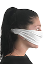 TRIBLEND JERSEY MULTIPURPOSE FACE MASK / HEADBAND TRI WHITE Alt2