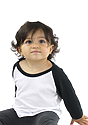 Infant Triblend Raglan Baseball Shirt  Front