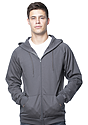 Unisex Organic Cotton Full Zip Hoodie  Front