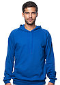 Unisex Organic Cotton Pullover Hoodie NAUTICAL BLUE Front