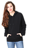 Unisex Organic Cotton Pullover Hoodie NIGHT Front3