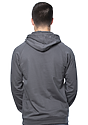 Unisex Organic Cotton Pullover Hoodie SLATE Back