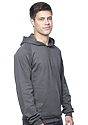 Unisex Organic Cotton Pullover Hoodie  Side