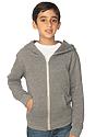 Youth Triblend Fleece Zip Hoodie  Front