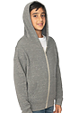 Youth Triblend Fleece Zip Hoodie  Side