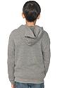 Youth Triblend Fleece Zip Hoodie  Back