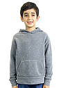 Youth Triblend Fleece Pullover Hoodie  Front
