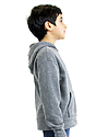 Youth Triblend Fleece Pullover Hoodie  Side2