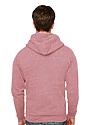Unisex Triblend Fleece Zip Hoodie  Back