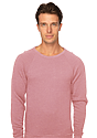 Unisex Triblend Fleece Raglan Crew Sweatshirt  Front