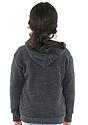 Toddler Triblend Fleece Zip Hoodie  Front3