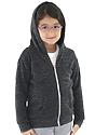 Toddler Triblend Fleece Zip Hoodie  Front