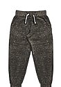 Toddler Triblend Fleece Jogger Sweatpant TRI ONYX Front