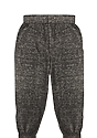 Toddler Triblend Fleece Jogger Sweatpant TRI ONYX Back