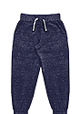 Toddler Triblend Fleece Jogger Sweatpant TRI DENIM NAVY Front